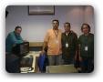 Rogério, José Augusto, Alexandre e Claudino