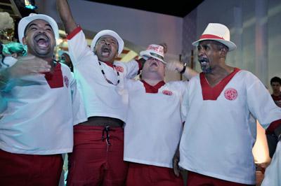 Anderson Benson, Luiz Pião, Dudu Botelho e Miudinho