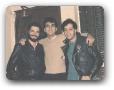 Estudio da 98FM com Paulo Eduardo e Fernando Borges 05/1987