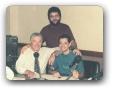Estudio da Globo AM com Haroldo de Andrade e Operador Prime Santos 12/1994