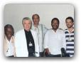 Estudio da Globo AM com Pato preto(Alipio Miranda), Haroldo, Edmo Zarife e Martinho da Vila 03/1996