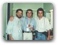 com Paulo Autunian e Anderson 05/1997