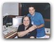 Estudio da 98FM com Leão Lobo 01/2005