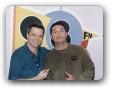 Estudio da 98FM com Ricardo Telles 08/2005