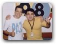Estudio da 98FM com Sergio Luis 01/2005