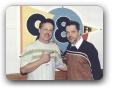 Estudio da 98FM com Charles Uchoa 09/2003