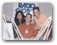 Estudio da Globo AM com Mário Esteves 09/2004