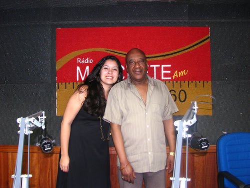 Manu Santos e Francisco Carioca